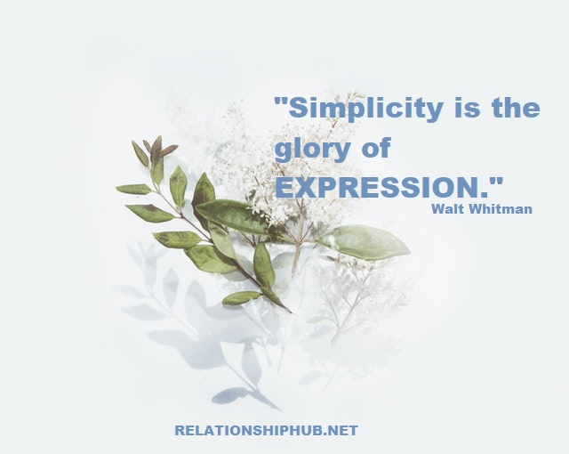 i want simple life quote