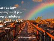 inspirational rainbow quotes