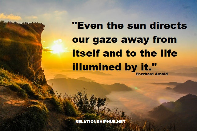 quote about the sunshine