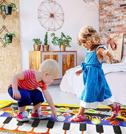 kids piano playmat