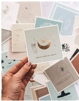 mindfulness and meditation cards