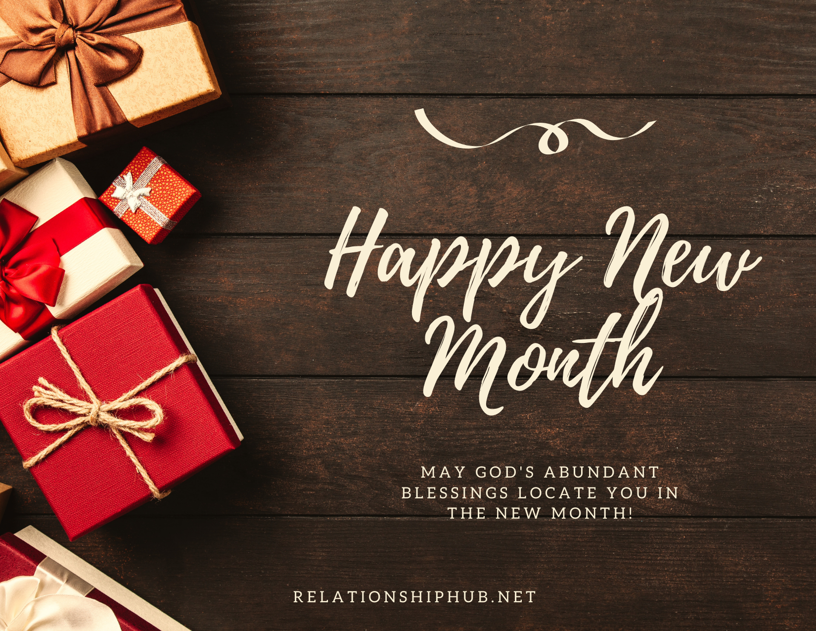 happy new month text messages